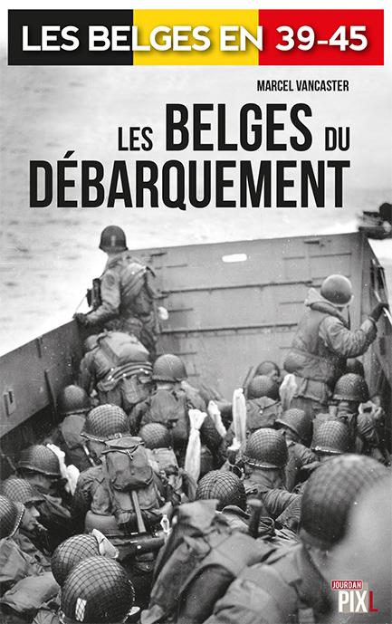 couv les belges du debarquement